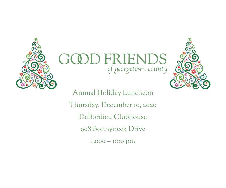 Good Friends 2020Luncheon
